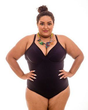 Maiô Sem Bojo Bianca Plus Size