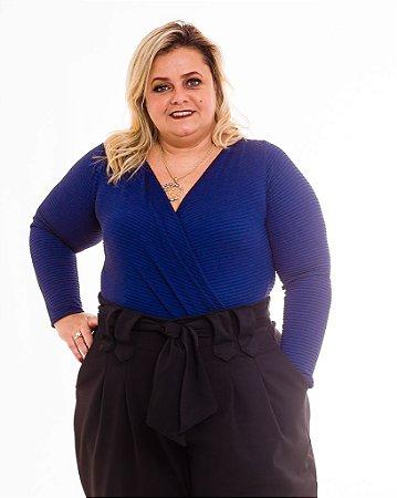 Body Louise Transpassado Plus Size