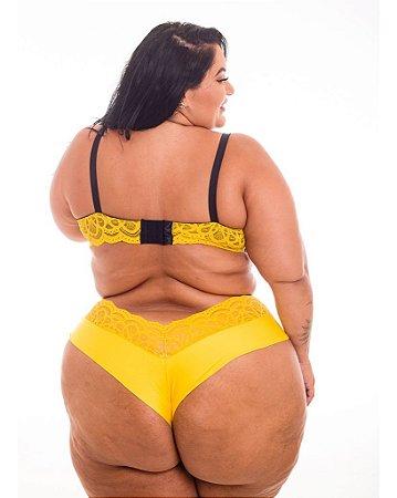 Calcinha Fio Isa Amarelo
