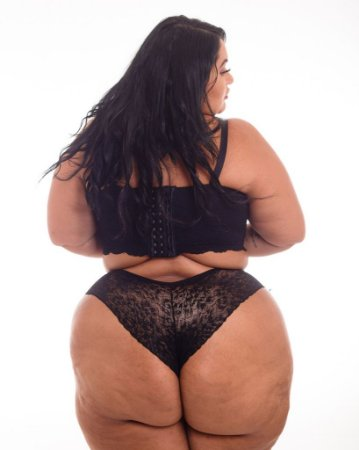 Calcinha Flavia Renda Juliana Plus Size