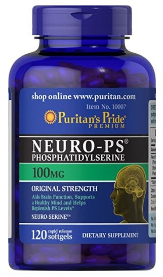 Neuro-PS (Phosphatidylserine) 100 mg | 120 Softgels - Puritan's Pride