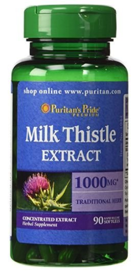 Cardo Mariano 1000mg (Milk Thistle) | 90 Softgels - Puritan's Pride