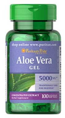 Aloe Vera 5.000mg | 100 Softgels - Puritan's Pride