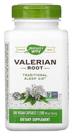 Valeriana 530mg | 180 Cápsulas - Nature's Way