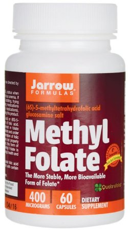Metilfolato (Methyl Folate) 400mcg | 60 Cápsulas - Jarrow