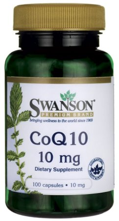 Coq10 (Coenzima10) 10mg | 100 Cápsulas - Swanson
