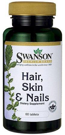 Cabelo, Pele & Unha (Hair, Skin & Nails) | 60 Tablets - Swanson