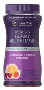 Polivitaminicos para Mulheres | 70 gomas - Puritan's Pride