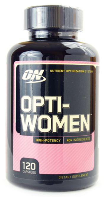 Polivitaminico Opti-women | 120 Cápsulas - Optimum Nutrition