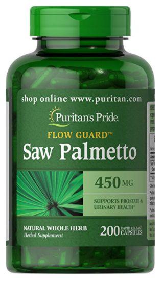 Saw Palmetto 450mg | 200 Cápsulas - Puritan's Pride