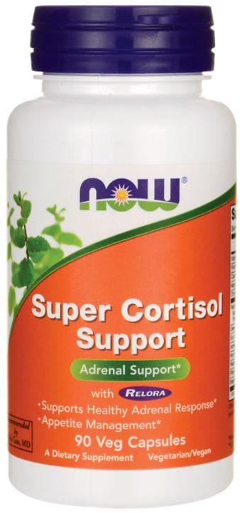 Cortisol | 90 Cápsulas - Now