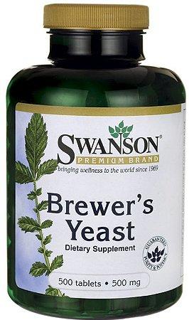Levedura de Cerveja 500mg | 500 Cápsulas - Swanson