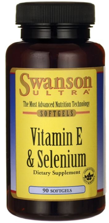 Vitamina E & Selênio | 90 Softgels - Swanson Ultra