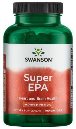 SUPER Ômega 3 - EPA (300mg) + DHA (200mg) | 100 Softgels - Swanson