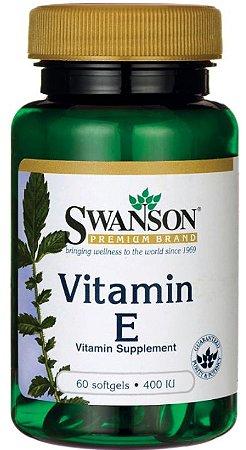 Vitamina E 400 IU| 60 Softgels - Swanson