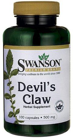 Devil's Claw - Harpagophytum (Garra do Diabo) 500mg | 100 Cápsulas - Swanson