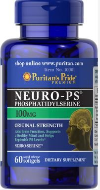 Neuro-PS (Phosphatidylserine) 100 mg | 60 Softgels - Puritan's Pride