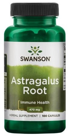 Astragalus Root 470mg | 100 Cápsulas - Swanson