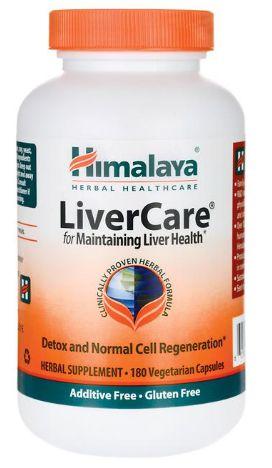 Himalaya LiverCare | 180 Cápsulas Vegetarianas - Himalaya
