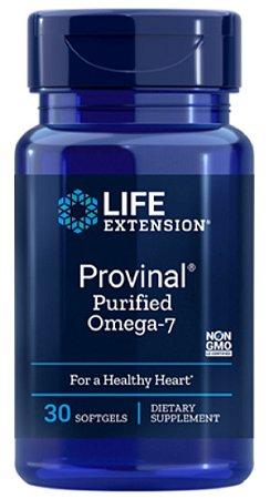 Provinal Ômega-7 Purificado | 30 Softgels - Life Extension