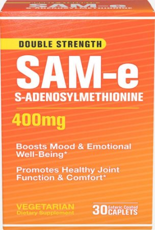 SAMe 400mg | 30 Tablets - Puritan's Pride