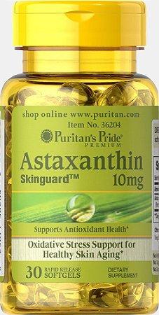 Astaxantina Natural 10mg | 30 Cápsulas - Puritan's Pride