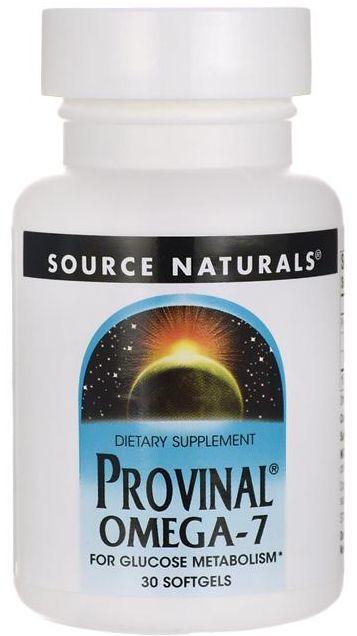 Provinal Ômega-7 Purificado | 30 Softgels - Source Naturals