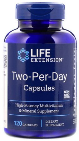 Two Per Day | 120 Cápsulas - Life Extension
