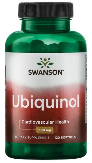 Ubiquinol 100mg  120 Softgels - Swanson ULTRA