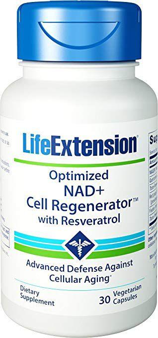 Optimized NAD+ Cell Regenerator™  com Resveratrol| 30 Capsulas - Life Extension