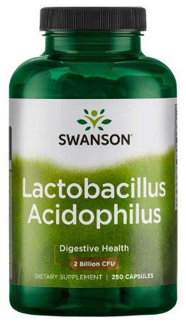 Probiótico Lactobacillus Acidophilus 2 bilhões CFU | 250 Cápsulas - Swanson