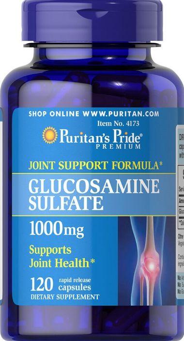 Glucosamina  1000mg  | 120 Cápsulas - Puritan's Pride