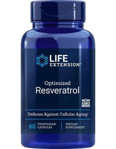 Optimized Resveratrol  | 60 cápsulas - Life Extension