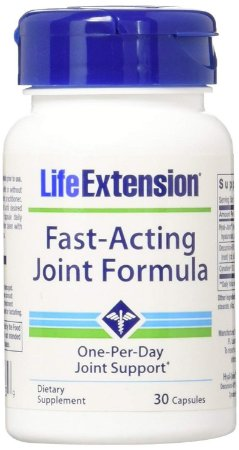 Fast-Acting Joint Formula - Fórmula de Ação Rápida para Articulações | 30 Cápsulas - Life Extension