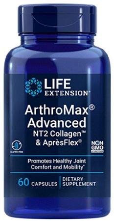 ARTHROMAX ADVANCED COM NT-II & APRÈSFLEX   60 CÁPSULAS - Life Extension