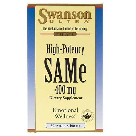 Same 400mg com 30 tabs - Swanson Ultra