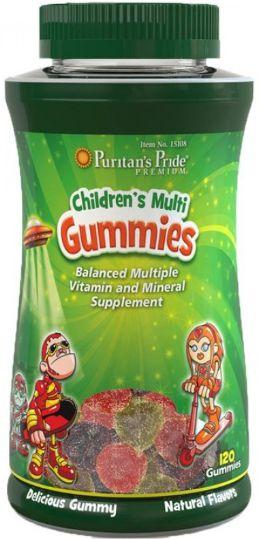 Multivitamínico / Polivitamínico Infantil   120 unidades mastigável - Puritan's Pride