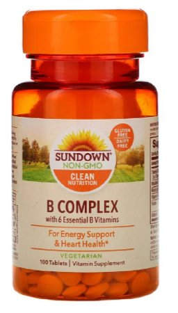 Complexo B| 100 Tablets - Sundown