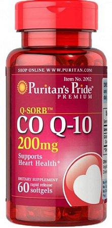 Q-Sorb Coq10 200mg | 60 Softgels - Puritan's Pride