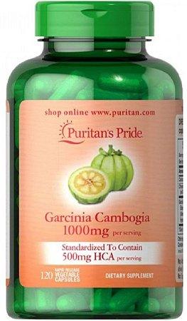 Garcinia Cambogia 1000mg   120 Cápsulas - Puritan's Pride