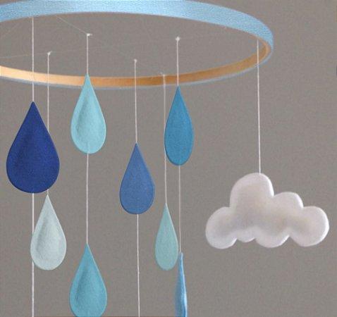 Rain Personalizado Azul