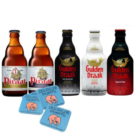 Kit Gulden Draak e Pirrat 330ml