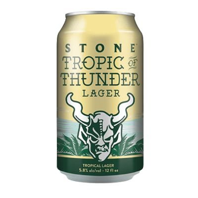 Stone Tropical of Thunder Lager Lata 355ml