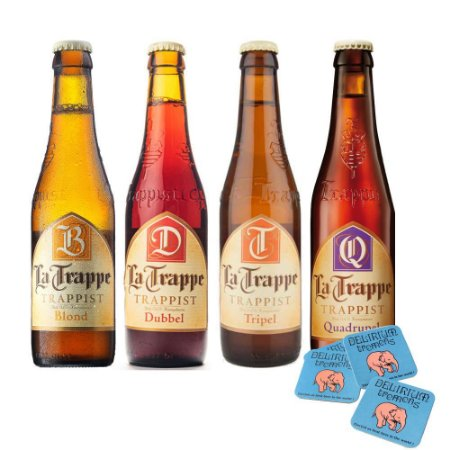 Kit Cerveja Holandesa La Trappe Degustação