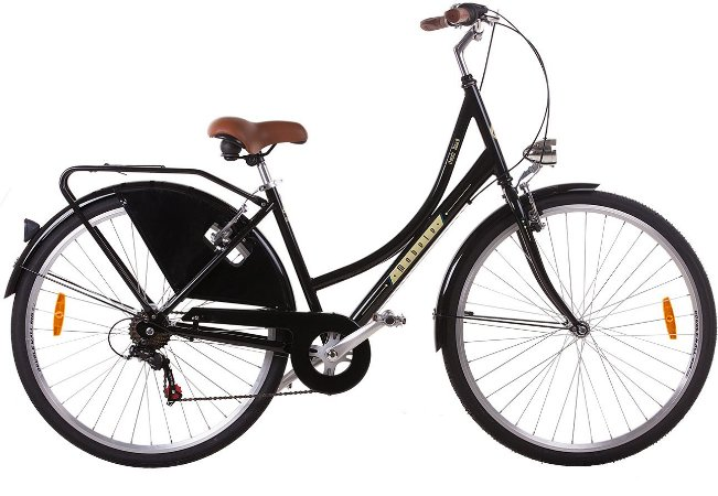 Bicicleta Mobele Oma A Preta
