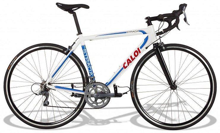 Bicicleta Caloi Strada Speed - Quadro Aluminio - Tam 51 - 16v