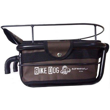Cadeirinha Altmayer Bike Dog Marrom