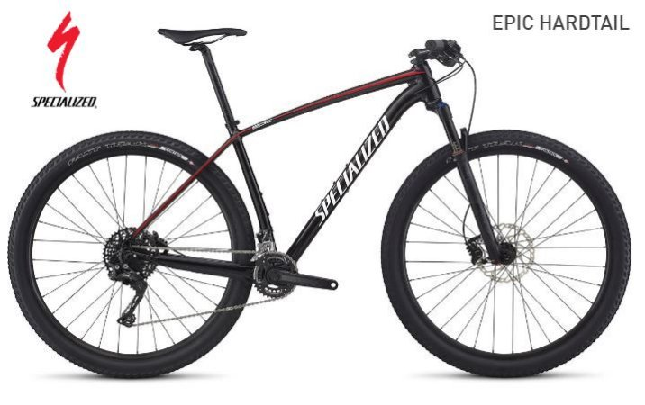 Bicicleta Specialized Epic HardTail - R$ 10.899,00