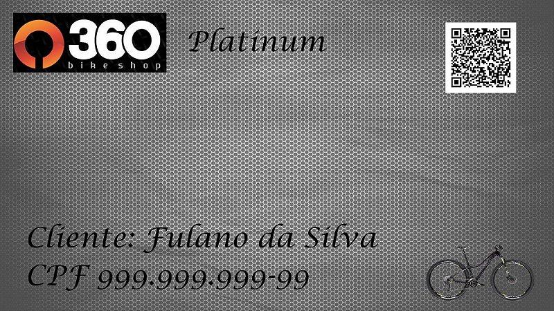 2 - 360 Bike Shop - Cartão Platinum - 1 Bike