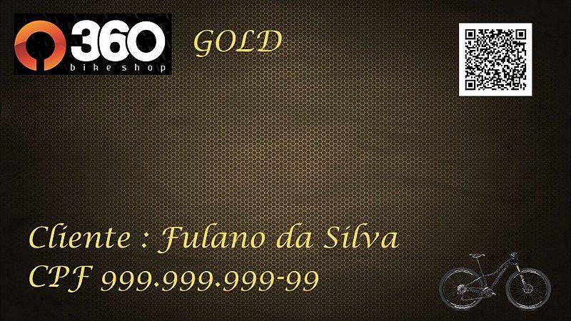 1 - 360 Bike Shop - Cartão Gold - 1 Bike